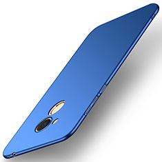 Funda Dura Plastico Rigida Carcasa Mate M01 para Huawei Honor 6C Pro Azul