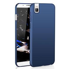 Funda Dura Plastico Rigida Carcasa Mate M01 para Huawei Honor 7i shot X Azul