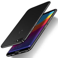 Funda Dura Plastico Rigida Carcasa Mate M01 para Huawei Honor Play 7A Negro