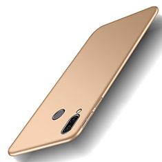 Funda Dura Plastico Rigida Carcasa Mate M01 para Huawei Honor Play Oro