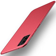 Funda Dura Plastico Rigida Carcasa Mate M01 para Huawei Honor Play4T Pro Rojo