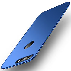 Funda Dura Plastico Rigida Carcasa Mate M01 para Huawei Honor V20 Azul