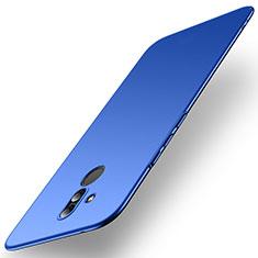 Funda Dura Plastico Rigida Carcasa Mate M01 para Huawei Mate 20 Lite Azul
