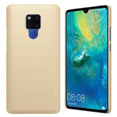 Funda Dura Plastico Rigida Carcasa Mate M01 para Huawei Mate 20 X Oro
