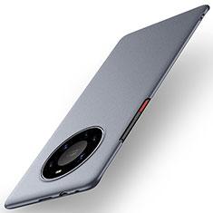 Funda Dura Plastico Rigida Carcasa Mate M01 para Huawei Mate 40 Pro+ Plus Gris