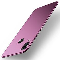Funda Dura Plastico Rigida Carcasa Mate M01 para Huawei Nova 3 Morado