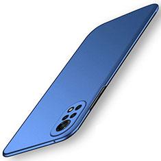 Funda Dura Plastico Rigida Carcasa Mate M01 para Huawei Nova 8 5G Azul
