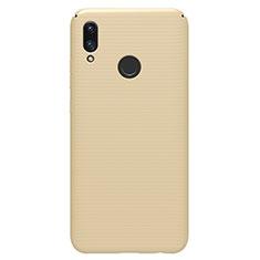 Funda Dura Plastico Rigida Carcasa Mate M01 para Huawei P Smart (2019) Oro