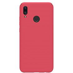 Funda Dura Plastico Rigida Carcasa Mate M01 para Huawei P Smart (2019) Rojo