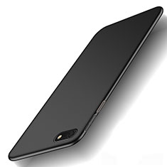 Funda Dura Plastico Rigida Carcasa Mate M01 para Huawei Y5 Prime (2018) Negro