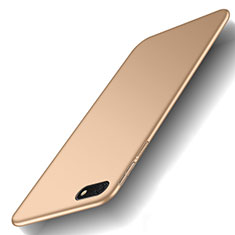 Funda Dura Plastico Rigida Carcasa Mate M01 para Huawei Y5 Prime (2018) Oro