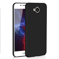Funda Dura Plastico Rigida Carcasa Mate M01 para Huawei Y6 (2017) Negro