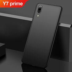 Funda Dura Plastico Rigida Carcasa Mate M01 para Huawei Y7 Prime (2019) Negro