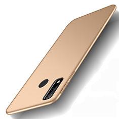 Funda Dura Plastico Rigida Carcasa Mate M01 para Huawei Y8s Oro
