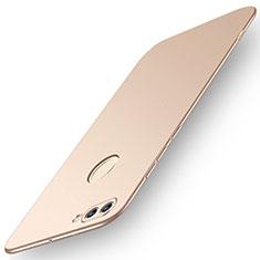 Funda Dura Plastico Rigida Carcasa Mate M01 para Huawei Y9 (2018) Oro