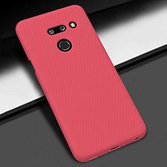 Funda Dura Plastico Rigida Carcasa Mate M01 para LG G8 ThinQ Rojo