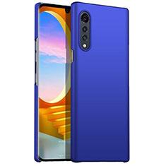 Funda Dura Plastico Rigida Carcasa Mate M01 para LG Velvet 4G Azul