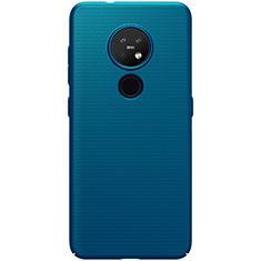 Funda Dura Plastico Rigida Carcasa Mate M01 para Nokia 7.2 Azul