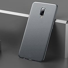 Funda Dura Plastico Rigida Carcasa Mate M01 para OnePlus 6T Gris