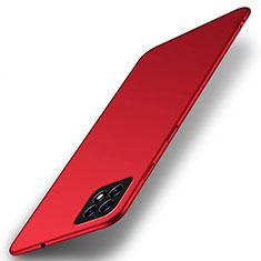 Funda Dura Plastico Rigida Carcasa Mate M01 para Oppo A73 5G Rojo