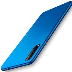 Funda Dura Plastico Rigida Carcasa Mate M01 para Oppo Find X2 Azul