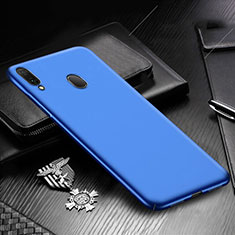 Funda Dura Plastico Rigida Carcasa Mate M01 para Samsung Galaxy A30 Azul