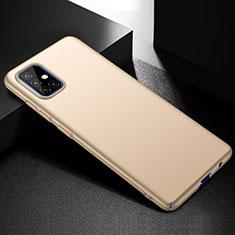 Funda Dura Plastico Rigida Carcasa Mate M01 para Samsung Galaxy A51 4G Oro