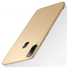 Funda Dura Plastico Rigida Carcasa Mate M01 para Samsung Galaxy A60 Oro