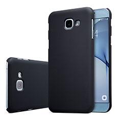 Funda Dura Plastico Rigida Carcasa Mate M01 para Samsung Galaxy A8 (2016) A8100 A810F Negro