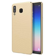 Funda Dura Plastico Rigida Carcasa Mate M01 para Samsung Galaxy A8 Star Oro