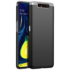 Funda Dura Plastico Rigida Carcasa Mate M01 para Samsung Galaxy A80 Negro