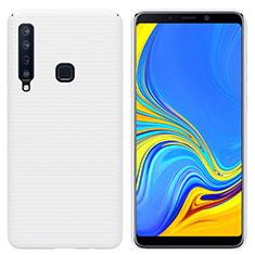 Funda Dura Plastico Rigida Carcasa Mate M01 para Samsung Galaxy A9s Blanco