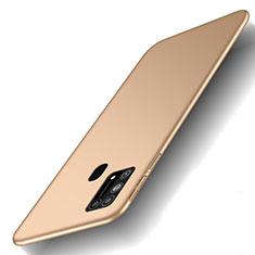 Funda Dura Plastico Rigida Carcasa Mate M01 para Samsung Galaxy M31 Oro