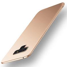 Funda Dura Plastico Rigida Carcasa Mate M01 para Samsung Galaxy Note 9 Oro