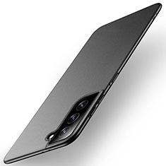 Funda Dura Plastico Rigida Carcasa Mate M01 para Samsung Galaxy S21 5G Negro