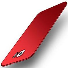 Funda Dura Plastico Rigida Carcasa Mate M01 para Samsung Galaxy S6 SM-G920 Rojo