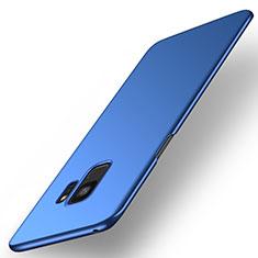 Funda Dura Plastico Rigida Carcasa Mate M01 para Samsung Galaxy S9 Azul