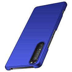 Funda Dura Plastico Rigida Carcasa Mate M01 para Sony Xperia 1 II Azul