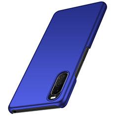 Funda Dura Plastico Rigida Carcasa Mate M01 para Sony Xperia 10 II Azul