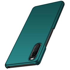 Funda Dura Plastico Rigida Carcasa Mate M01 para Sony Xperia 10 II Verde