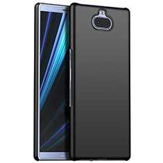 Funda Dura Plastico Rigida Carcasa Mate M01 para Sony Xperia 10 Plus Negro