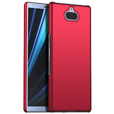 Funda Dura Plastico Rigida Carcasa Mate M01 para Sony Xperia 10 Plus Rojo