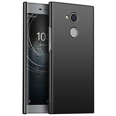 Funda Dura Plastico Rigida Carcasa Mate M01 para Sony Xperia L2 Negro