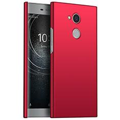 Funda Dura Plastico Rigida Carcasa Mate M01 para Sony Xperia L2 Rojo