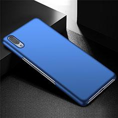 Funda Dura Plastico Rigida Carcasa Mate M01 para Sony Xperia L3 Azul