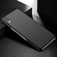 Funda Dura Plastico Rigida Carcasa Mate M01 para Sony Xperia L3 Negro