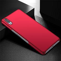 Funda Dura Plastico Rigida Carcasa Mate M01 para Sony Xperia L3 Rojo