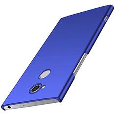 Funda Dura Plastico Rigida Carcasa Mate M01 para Sony Xperia XA2 Azul