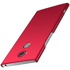 Funda Dura Plastico Rigida Carcasa Mate M01 para Sony Xperia XA2 Rojo