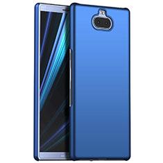Funda Dura Plastico Rigida Carcasa Mate M01 para Sony Xperia XA3 Azul